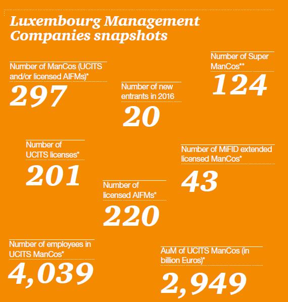 Management Companies snapshot