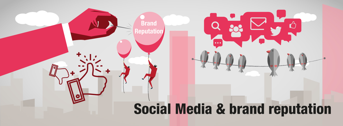 The role of social media in managing brand reputation crisis
