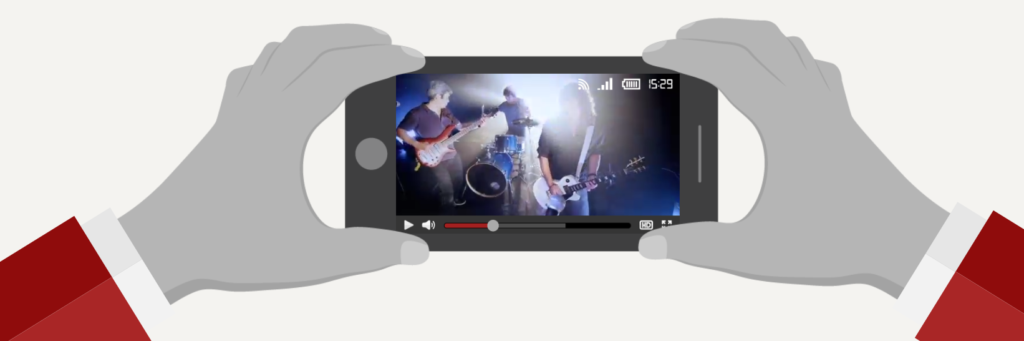 Smartphone Music Video Capture