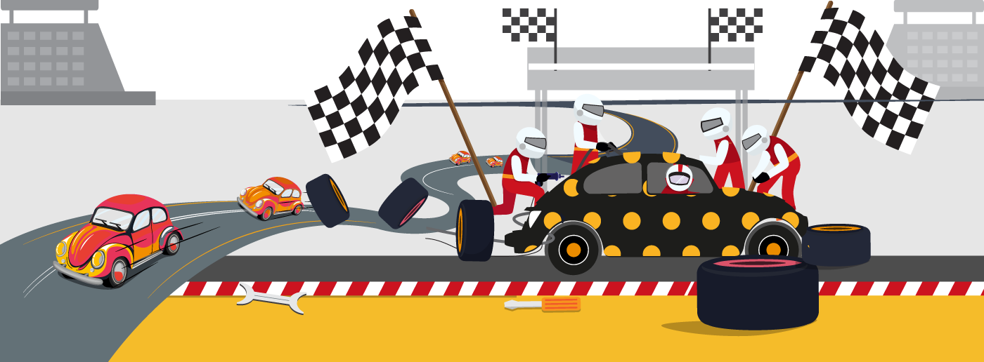Why car racing is good for client engagement