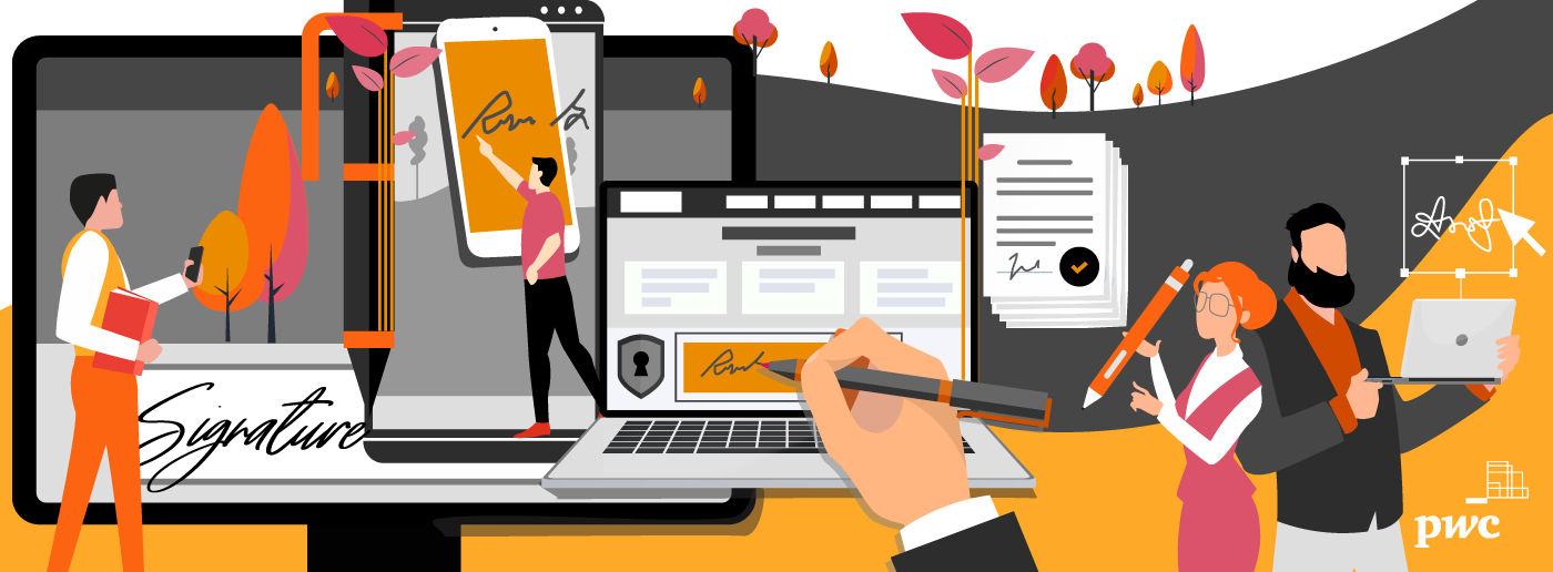 The electronic signature, driver of trust and efficiency in business